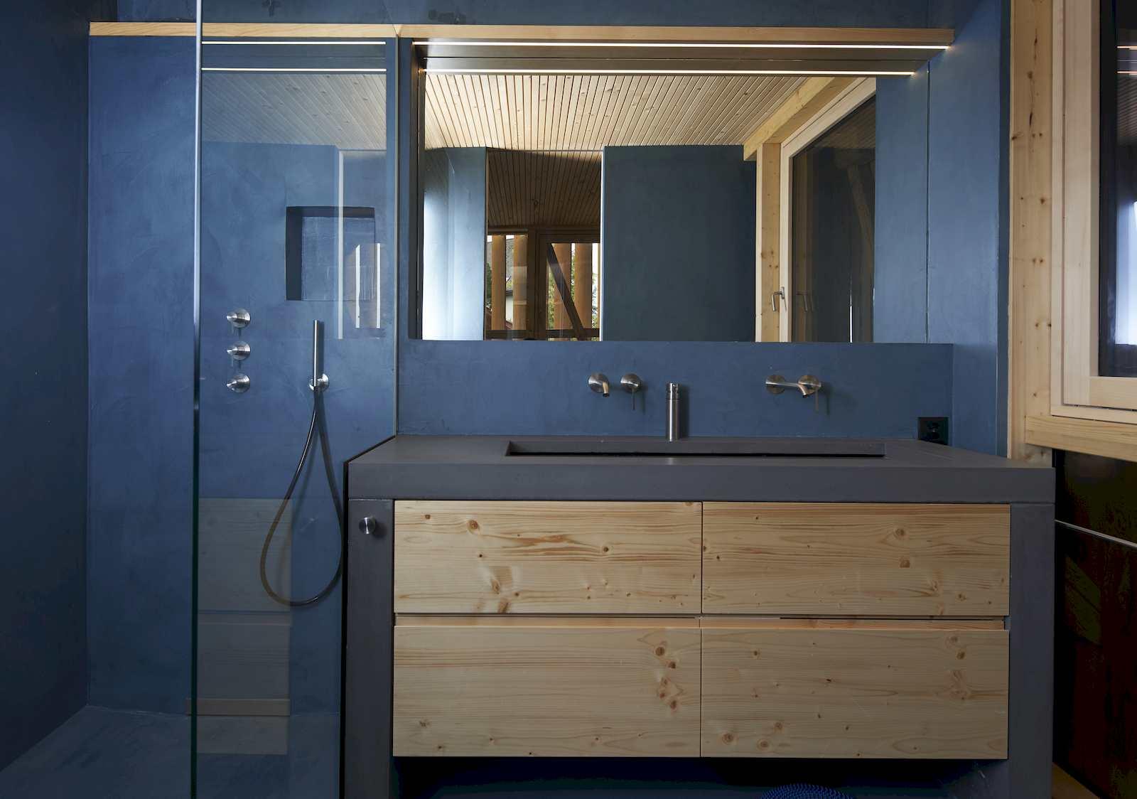 denkmalgeschuetzte scheune Badezimmer